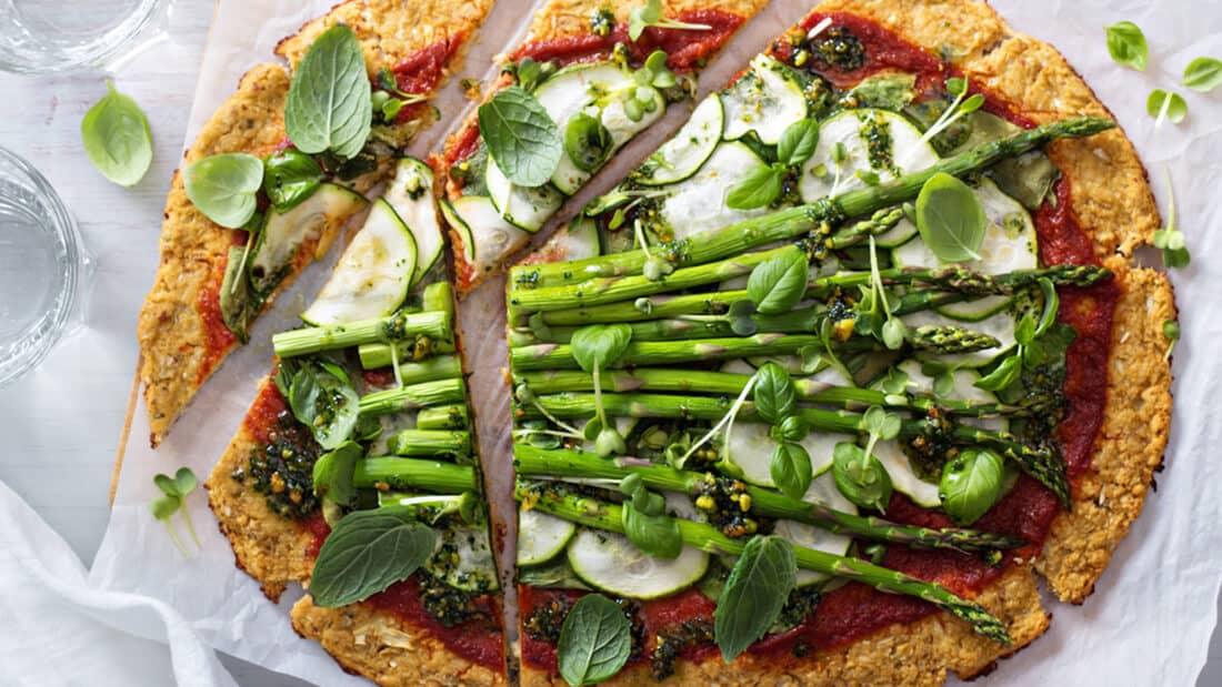 Crispiest Cauliflower Pizza Dough Recipe