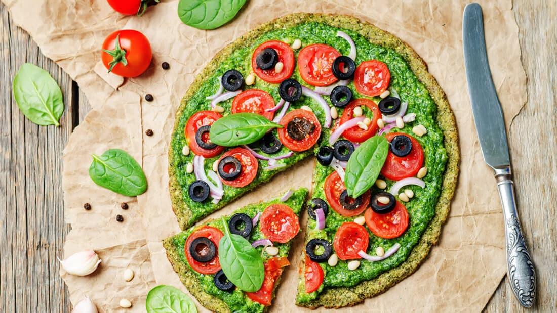 Zucchini pizza dough recipe